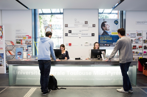 l'accueil-welcome desk - Toulouse - UFTMP - 2018